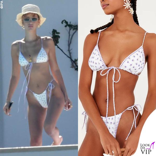 Bella Hadid bikini For Love and Lemons 3