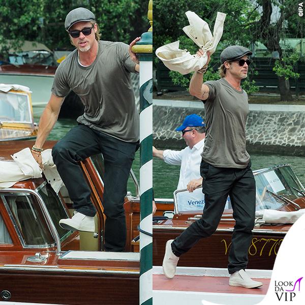 Brad Pitt Venezia tshirt look 1