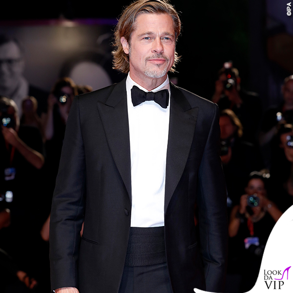 Brad Pitt total look Brioni 4