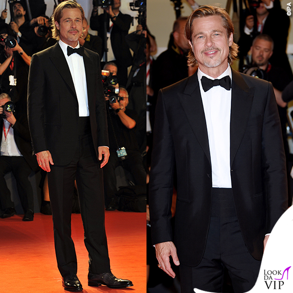 Brad Pitt total look Brioni 5