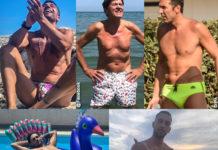 Costantino Vitagliano Gianni Morandi Gigi Buffon Alberto Urso Mahmood costume