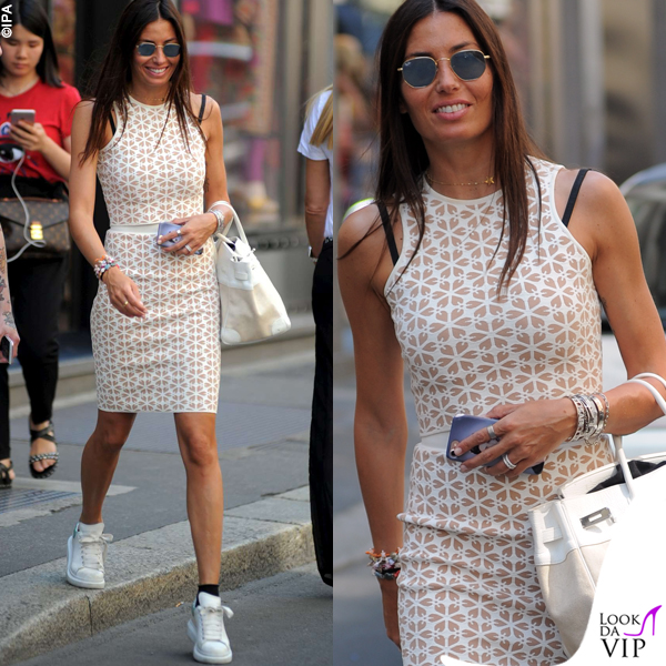 Elisabetta Gregoraci shopping