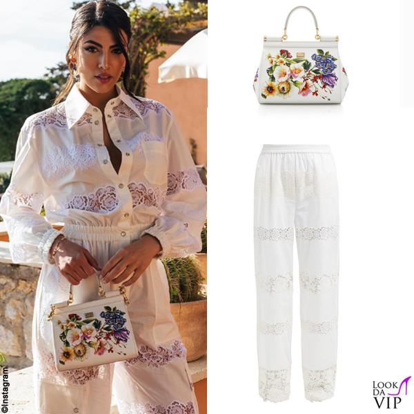 Giulia Salemi outfit Dolce Gabbana 2