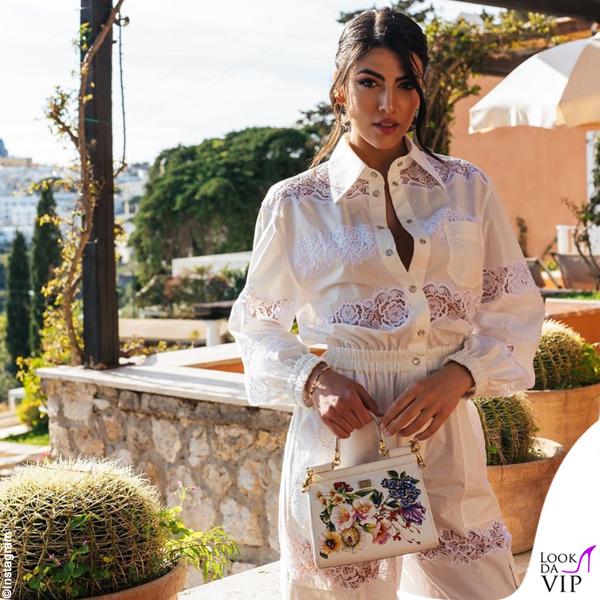 Giulia Salemi outfit Dolce Gabbana