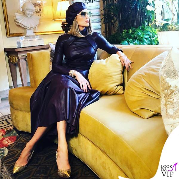 Jennifer Lopez abito Zimmermann pump Casadei
