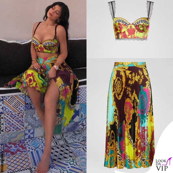 Kylie Jenner outfit Versace 2