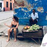 Marina La Rosa scalza Cuba