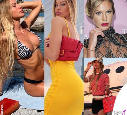 Taylor Mega bikini Megaswim borsa Fendi bracciale Cartier borsa Hermes