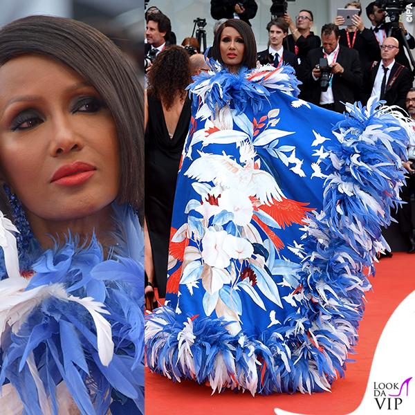Venezia 76 Iman abito Valentino Couture