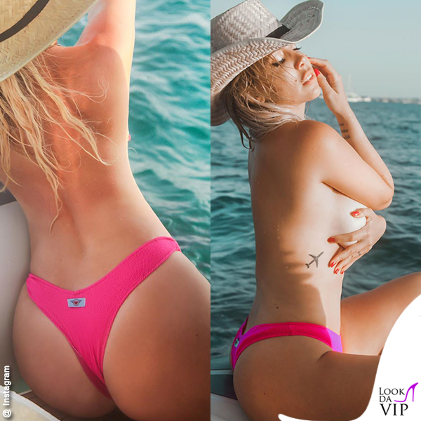 Wanda Icardi tanga Bikini Lovers