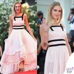 Chiara Ferragni Venezia 73 2016 red carpet vestito Philosophy