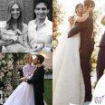 Chiara Ferragni abito Dior Fedez Riccardo Pozzoli Gabrielle Caunesil abito Armani