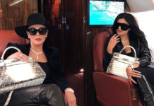 Kris Kylie Jenner borse Hermes Kelly Himalaya 1