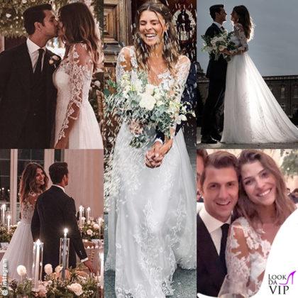 Matrimonio Chiabotto Roscio Cristina Chiabotto abito Alberta Ferretti Marco Roscio abito Alessandro Martorana