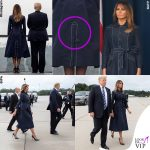 Melania Trump trench Atelier Caito for Herve Pierre 11 settembre 10