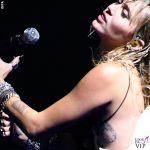 Miley Cyrus abito Saint Laurent