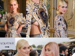 PFW Chiara e Valentina Ferragni outfit Dior 3
