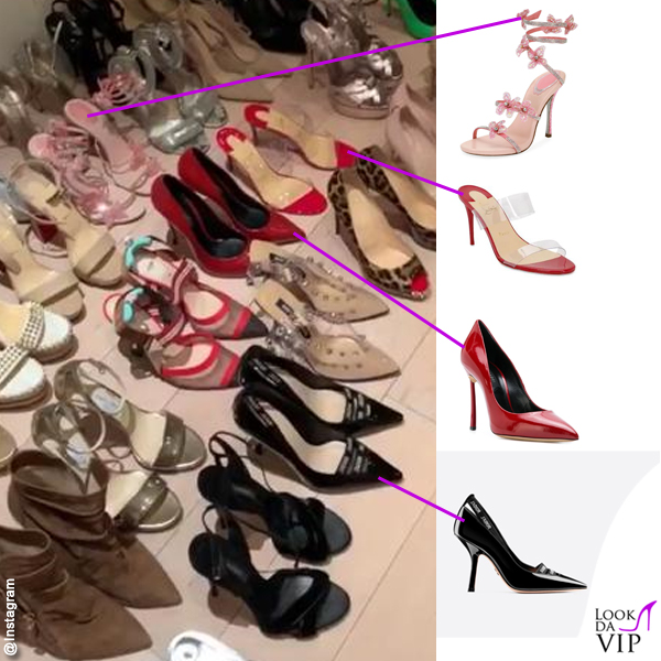 Taylor Mega sandali Rene Caovilla sandali Louboutin pump Casadei pump Dior