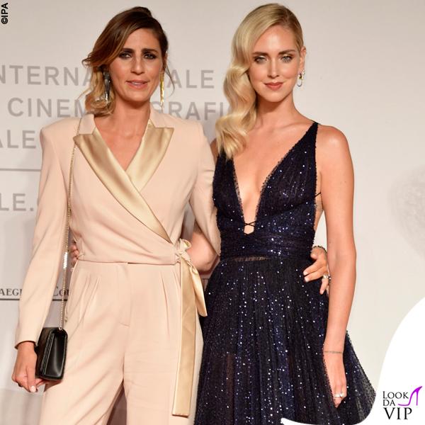 Venezia 76 Chiara Ferragni Unposted Chiara Ferragni abito Dior e Elisa Amoruso