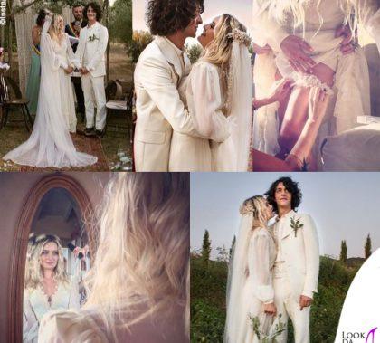 matrimonio Carolina Crescentini e Motta abiti Gucci 13