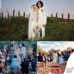 matrimonio Carolina Crescentini e Motta abiti Gucci