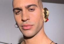 Mahmood ha un orecchio tutto d'oro