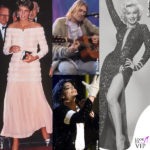 Lady Diana Spencer Kurt Cobain Marilyn Monroe Michael Jackson abiti all'asta
