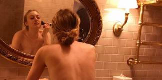 dakota fanning allo specchio