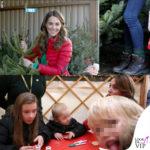 Kate Middleton sceglie l'albero di Natale con il piumino Perfect Moment, il maglione Really Wild e gli scarponcini Berghaus