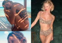 Alessia Marcuzzi in vacanza alle Maldive