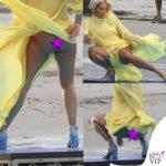 Rita Ora nello shooting per Deichmann