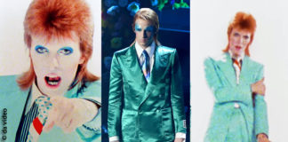 Achille Lauro interpreta David Bowie Ziggy Stardust