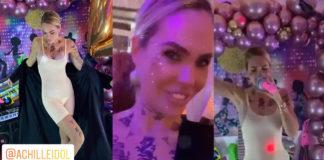 Ilary Blasi travestita da Achille Lauro