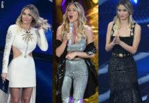 Sanremo 2020 finale Diletta Leotta abiti Fausto Puglisi