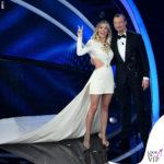 Sanremo Diletta Leotta con un abito Fausto Puglisi