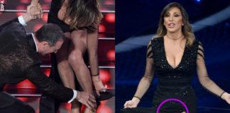 Sabrina Salerno durante la seconda puntata di Sanremo 2020