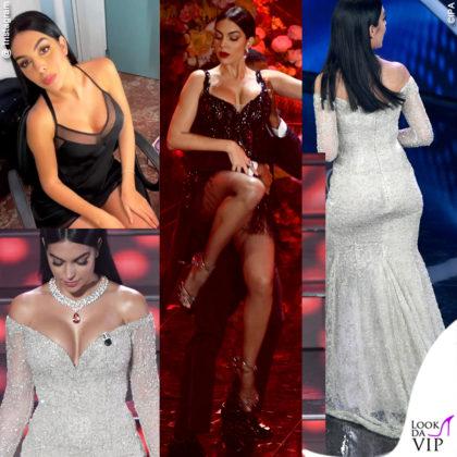 Georgina Rodriguez a Sanremo 2020