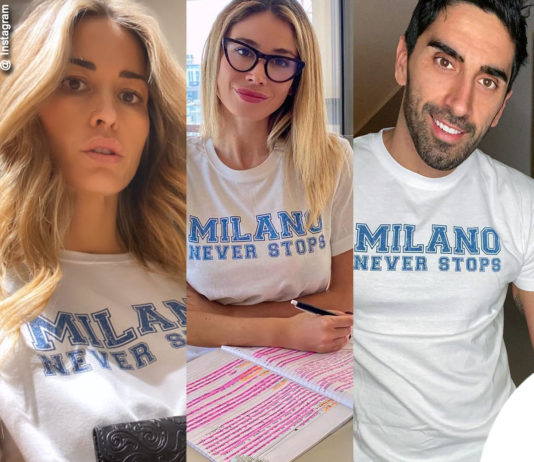 tshirt Etro Milano never stops
