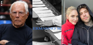 Giorgio Armani, Chiara Ferragni, Mascherine Ermanno Scervino, stabilimenti Miroglio