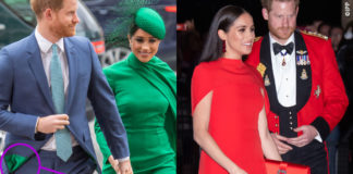 Principe Harry e Meghan Markle in pendant