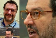 Matteo Salvini con una montatura Persol