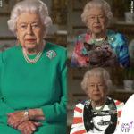 il vestito verde della regina elisabetta trasformato in mille varianti diverse