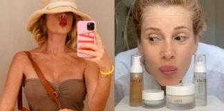 Alessia Marcuzzi e la linea Luce Beauty