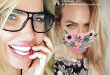 Ilary Blasi occhiali e mascherina: lo scherzo di Alvin