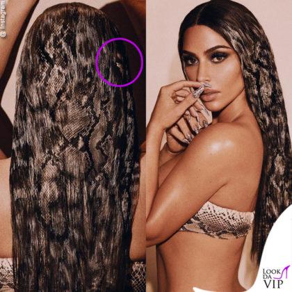 Kim Kardashian bacchettata per il fotoritocco