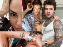 tatuaggi De Lellis Canalis Fedez Gregoraci