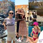 Chiara Ferragni e Fedez, turismo Italia Liguria Lazio, influencer italiana
