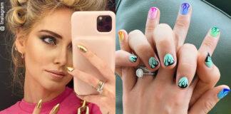 Chiara Ferragni e la passione per le unghie in pendant con Fedez