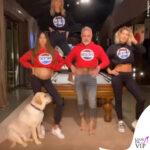 Gianluca Vacchi balla sui tacchi con i vestiti di Sharon Fonseca