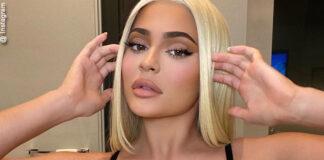 Kylie Jenner sensuale col reggiseno Gucci